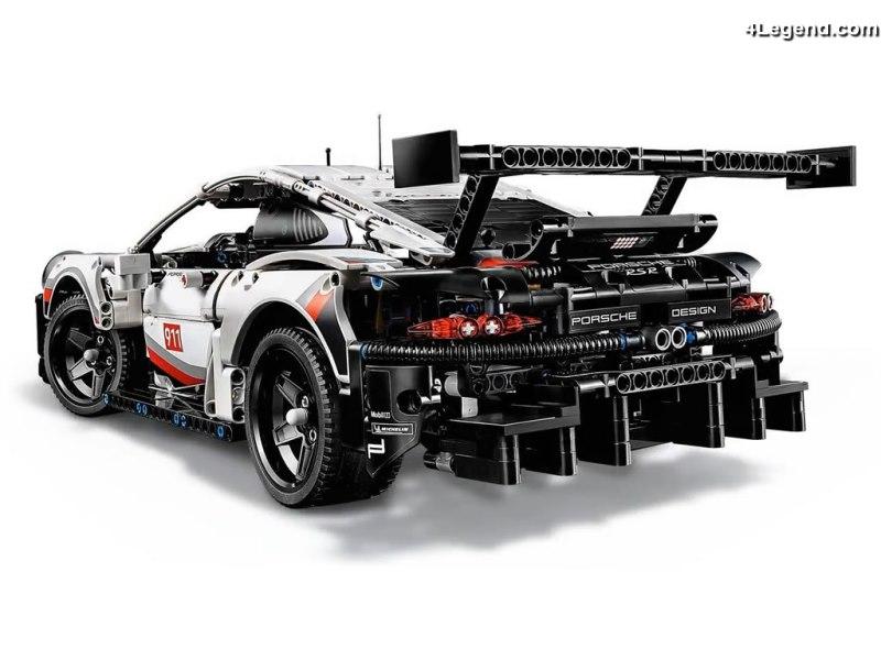 Lego 42096 Technic PORSCHE 911 RSR réaliste modèle de voiture