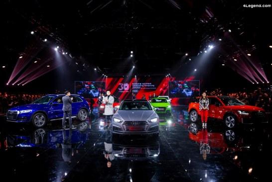 Pour leur 30 ans de partenariat, Audi et FAW lancent de nouveaux modèles pour la Chine