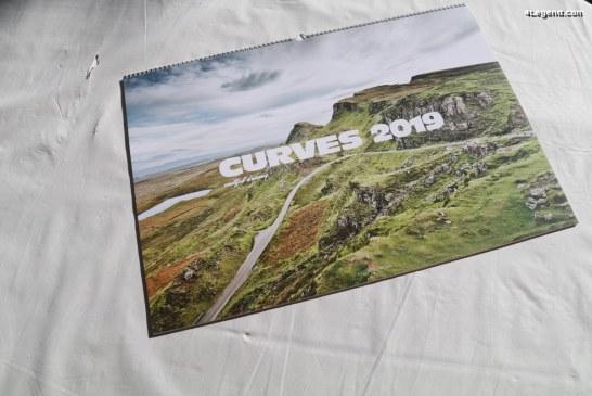 Calendrier Curves 2019 de Stefan Bogner – Delius Klasing