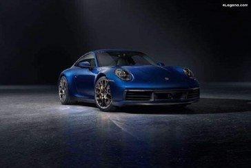 Fuite de photos officielles de la Porsche 911