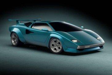 Lamborghini Countach Concept 2018 – Une interprétation moderne d'une icône