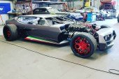 Lamborghini Espada Hot Rod par Danton Arts Kustoms