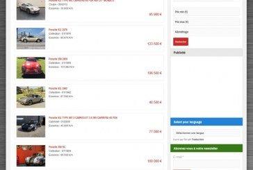 Des milliers d'annonces automobiles arrivent sur 4Legend.com