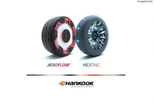 De nouveaux concepts de pneumatiques futuristes Hankook au Essen Motor Show 2018