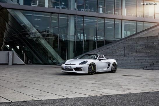 La Porsche 718 Boxster S par Techart reçoit le prix sport auto AWARD 2018