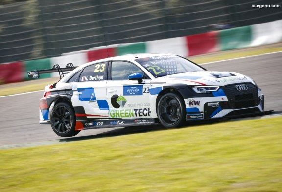 WTCR – Quatrième place pour Audi à Suzuka