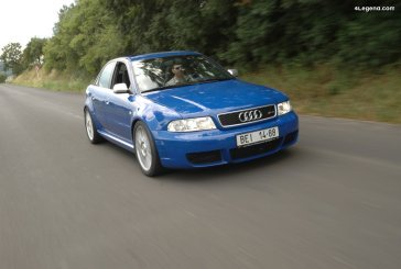 Audi RS 4 berline B5 de 2000 - L'unique RS 4 berline validée par quattro GmbH