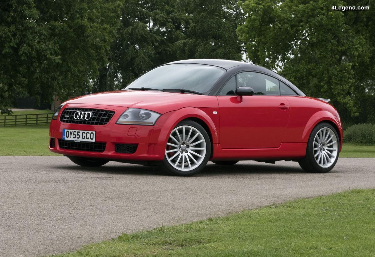 Audi TT quattro sport de 2005 - Le TT Mk1 le plus sportif limité à 1 000 exemplaires