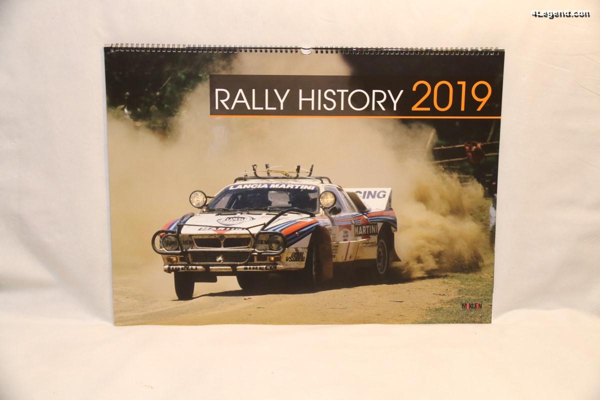 Calendrier Rally History 2019 de McKlein Publishing