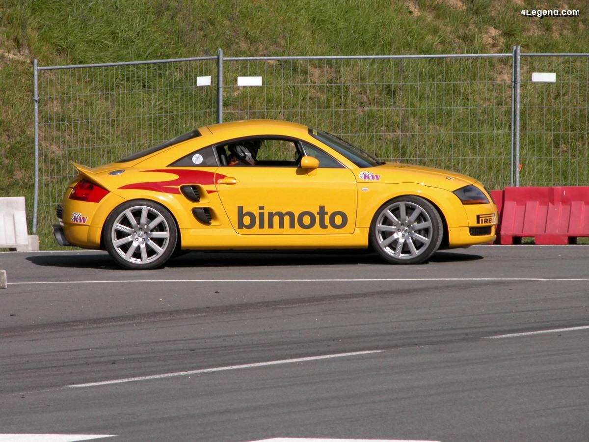 MTM bimoto & bimoto evo - Une Audi TT à 2 moteurs développant jusqu'à 1 002 ch