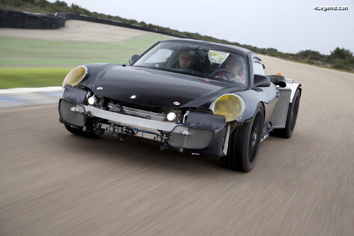 Prototype secret de la Porsche 918 Spyder de 2011 - Un mulet méconnu