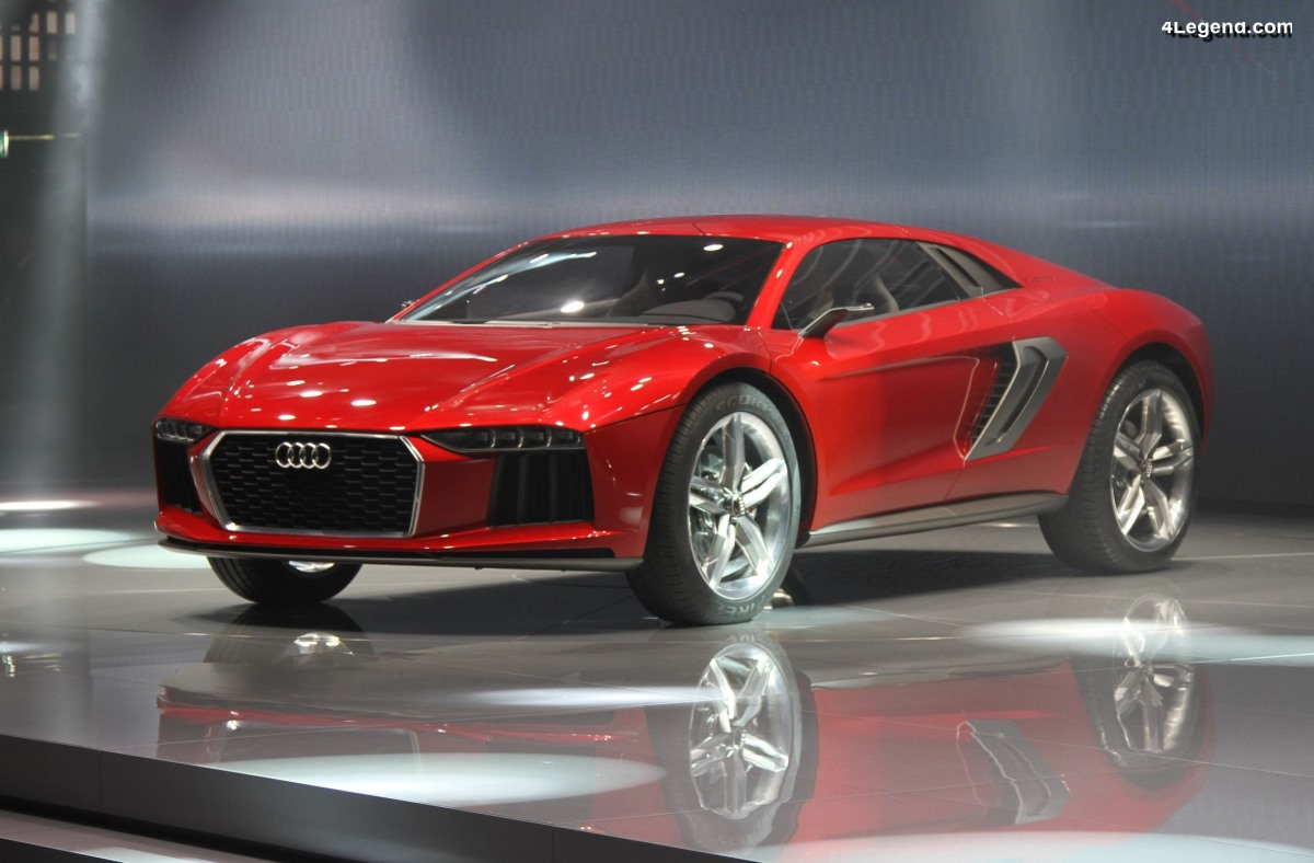 Audi nanuk quattro concept de 2013 - La sportivité sous une forme inédite