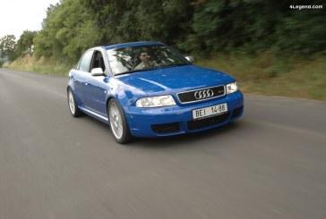 Audi RS 4 berline B5 de 2000 – L'unique RS 4 berline validée par quattro GmbH