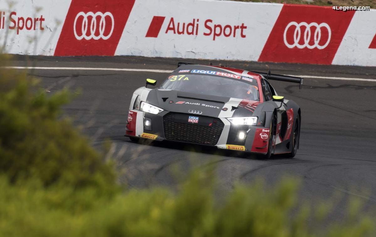 Nouveau record en 2018 pour l'Audi Sport customer racing