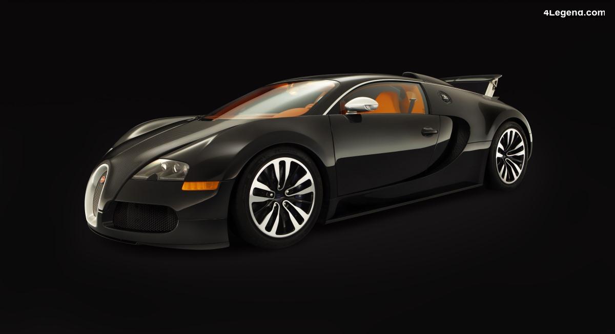 Bugatti Veyron Sang Noir de 2008 - Limitée à 15 exemplaires