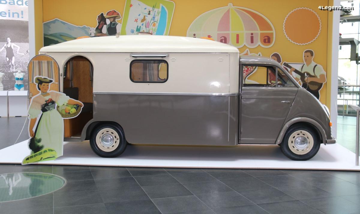 DKW Schnellaster F800/3 Westfalia de 1956 - L'ancêtre des camping-cars