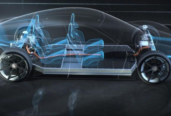 Comparaison des architectures des Audi e-tron GT concept et Porsche Mission E concept
