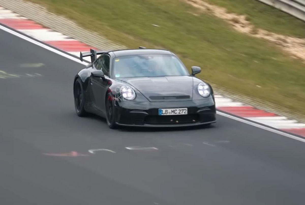 Confirmation du moteur atmosphérique sur la Porsche 911 GT3 type 992