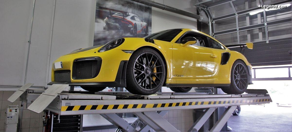 Découverte technique des entrailles de la Porsche 911 GT2 RS