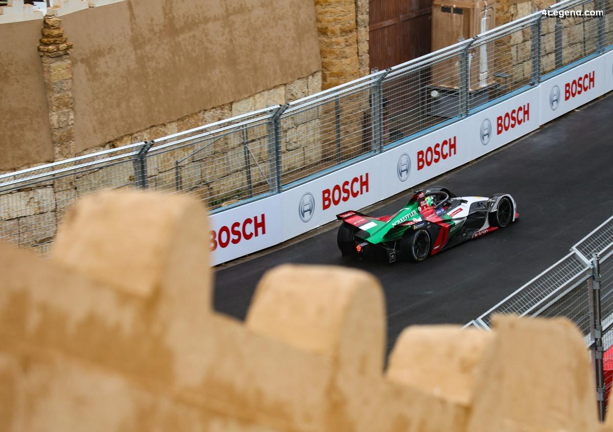 Formule E - Abt et di Grassi marquent des points pour Audi lors de la 1ère course