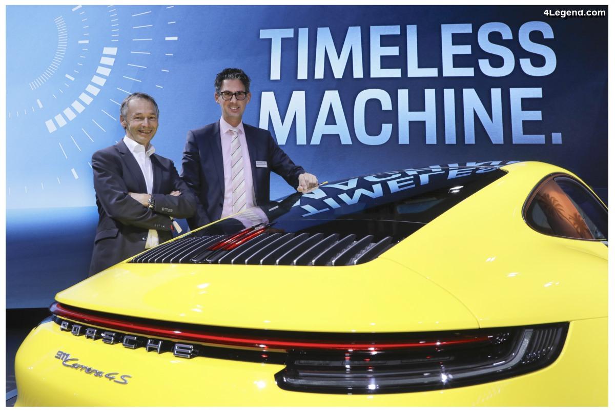 Changement chez Porsche : Frank-Steffen Walliser succède à August Achleitner prenant sa retraite