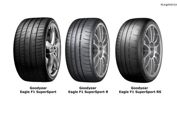 Gamme Goodyear Eagle F1 SuperSport – De nouveaux pneus sportifs pour la route et le circuit