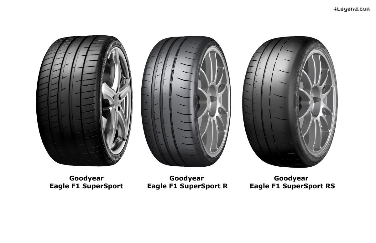 Gamme Goodyear Eagle F1 SuperSport - De nouveaux pneus sportifs pour la route et le circuit