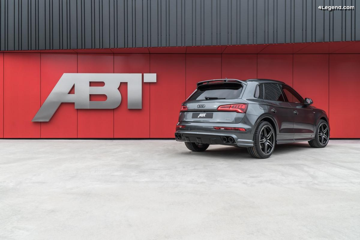 ABT dévoile son kit d'échappement visible pour l'Audi Q5
