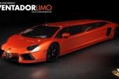Une surprenante Lamborghini Aventador Limousine