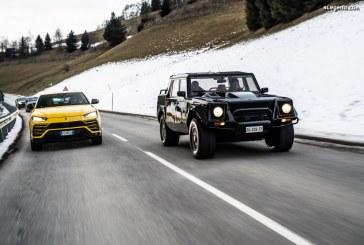 Lamborghini Christmas Drive : un voyage festif pour le Urus et le LM002