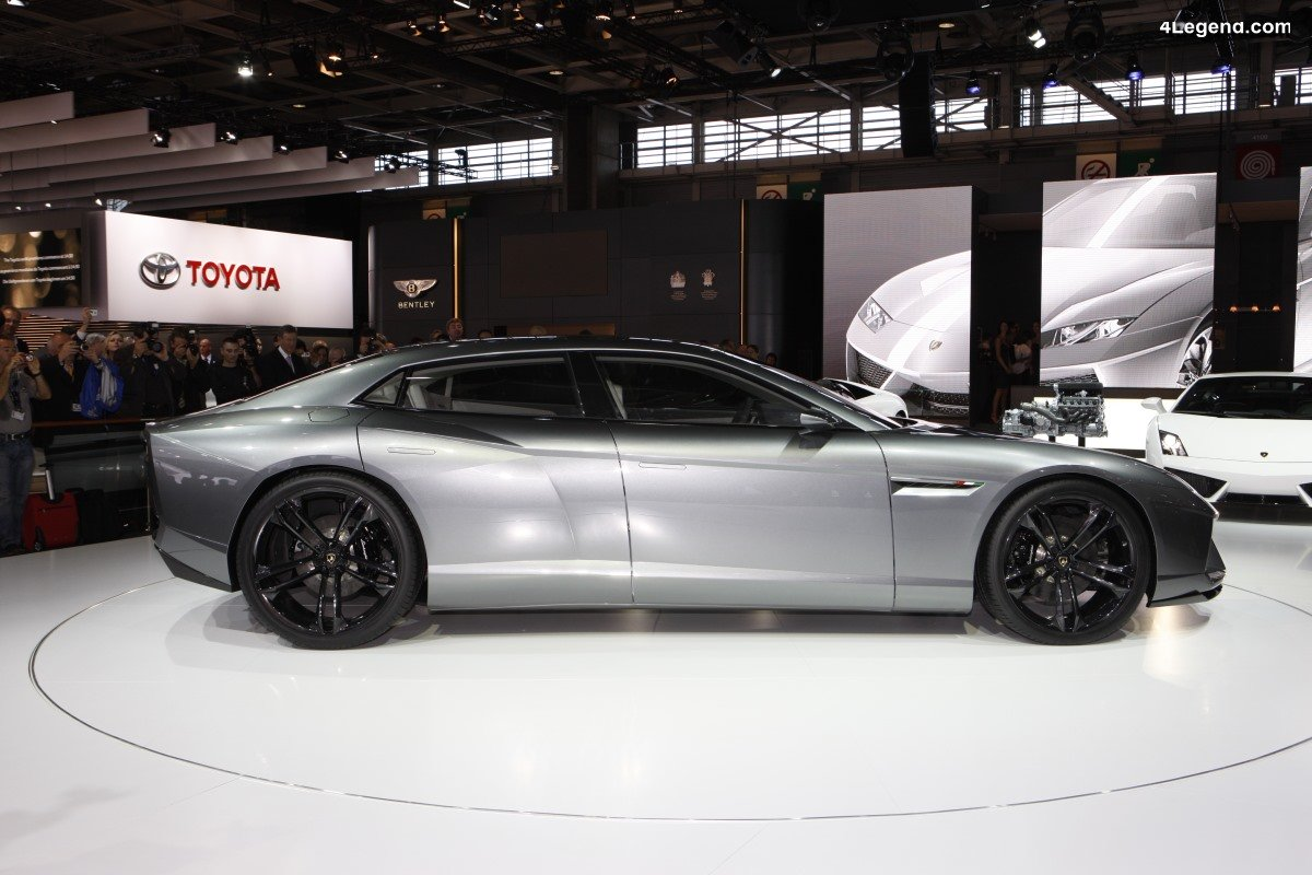 Lamborghini Estoque de 2008 - Un concept de berline super sportive