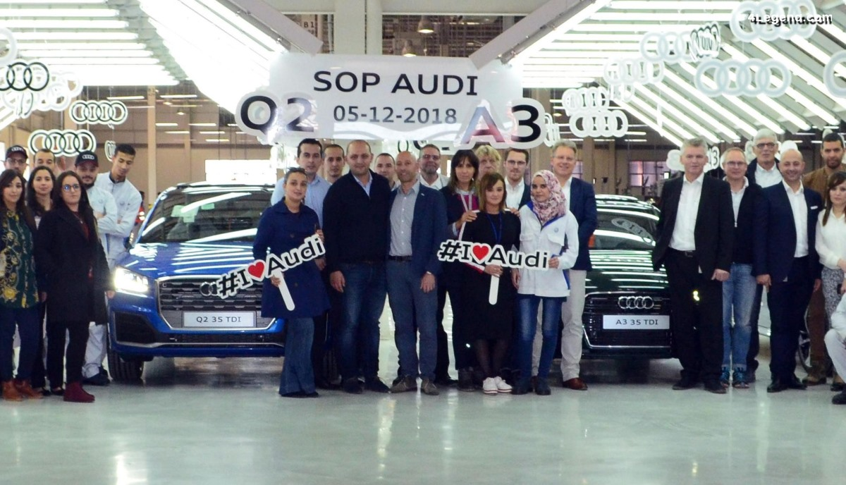 Audi lance la production de modèles en Algérie