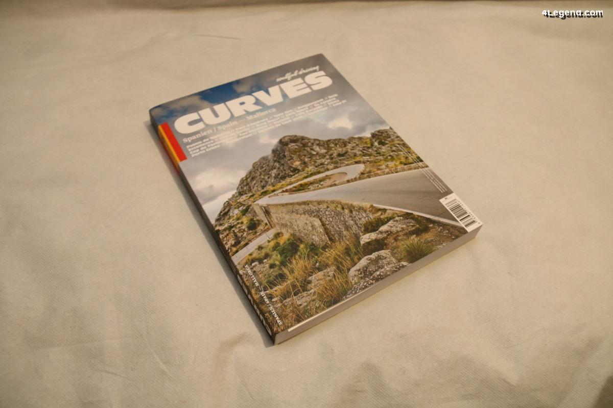 Livre CURVES N°10 : Mallorca de Stefan Bogner & Ben Winter - Delius Klasing