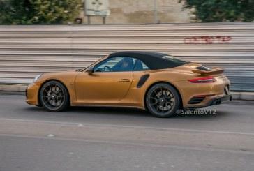 MAJ – Porsche 911 Turbo S Cabriolet Exclusive Series en série limitée (USA & Canada)