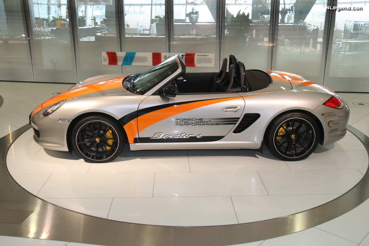 Porsche Boxster E de 2011 - 3 prototypes de Boxster électrique