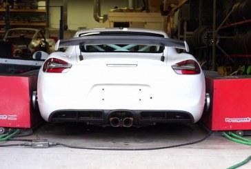 Projet 4.25L GT4 –  Une Porsche Cayman GT4 délivrant 561 ch via un moteur de 4,25 litres