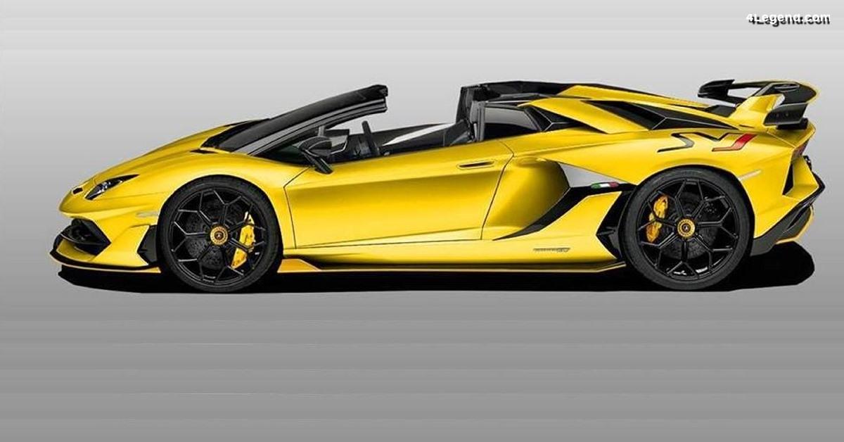 Première mondiale de la Lamborghini Aventador SVJ Roadster à Genève 2019