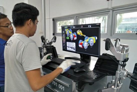 Porsche forme des techniciens pour le service après-vente à Puebla