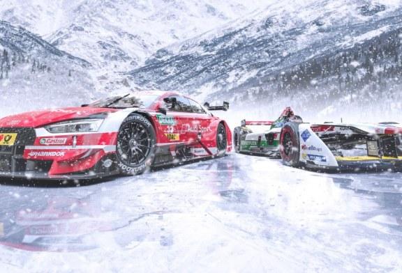 En route pour le froid : Audi au GP Ice Race en Autriche