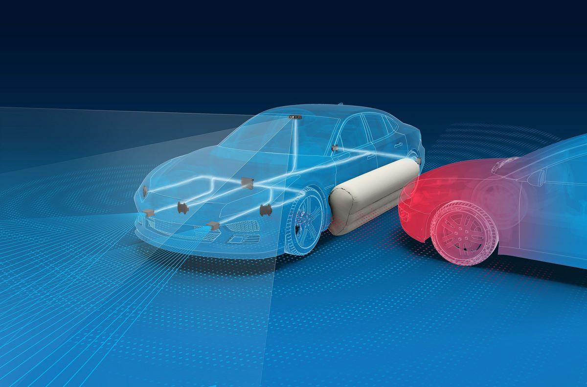 L'équipementier ZF présente des stratégies d'activation des airbags avant un accident