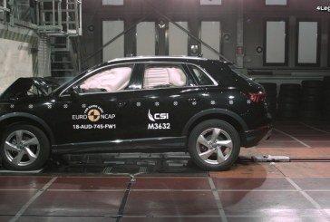 Cinq étoiles pour l'Audi Q3 au test Euro NCAP