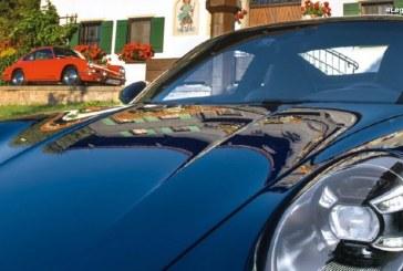 Arrivée de la nouvelle Porsche 911 au Schüttgut à Zell am See