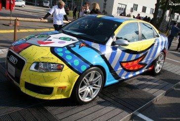 Audi RS 4 Art Car Best Buddies & Audi Q7 Art Car – Réalisées par Romero Britto