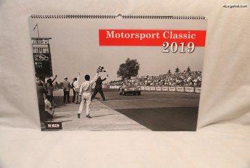 Calendrier Motorsport Classic 2019 de McKlein Publishing