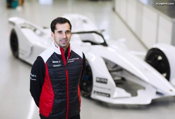 Neel Jani est le premier pilote officiel Porsche en Formule E