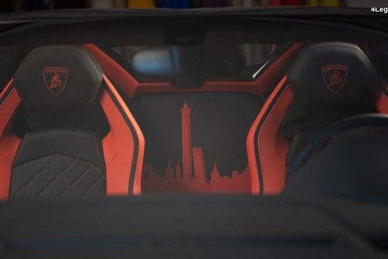Lamborghini Aventador S Roadster by Lamborghini Ad Personam : unique!