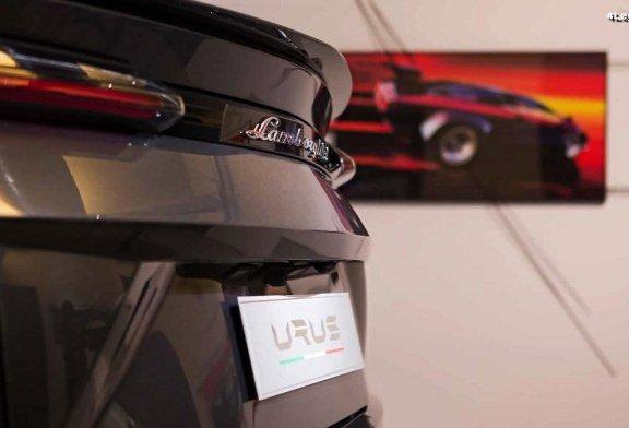 Le Lamborghini Urus représente le «Made In Italy» au Art Basel 2018 à Miami