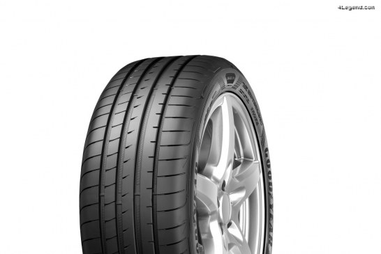Nouveau pneu Goodyear Eagle F1 Asymmetric 5 alliant confort et performances