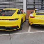 Porsche 911 type 992 vs 911 type 991 – Observations des différences