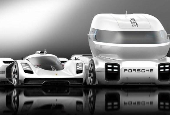 Porsche GT Vision Truck Concept – Un camion de transport de voiture de course Porsche